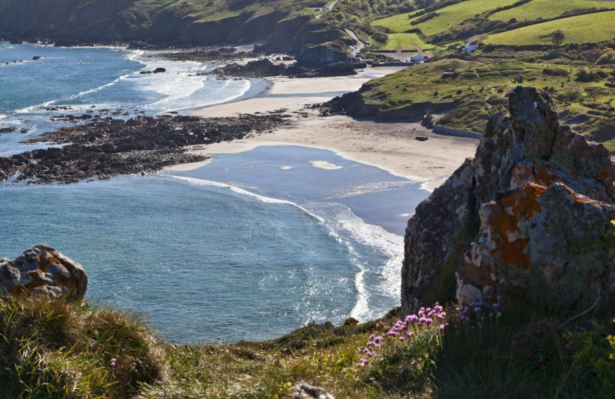 View over Kennack Sands