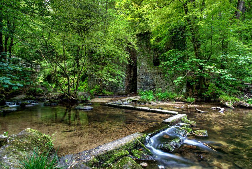 Kennall Vale Gunpowder Mill
