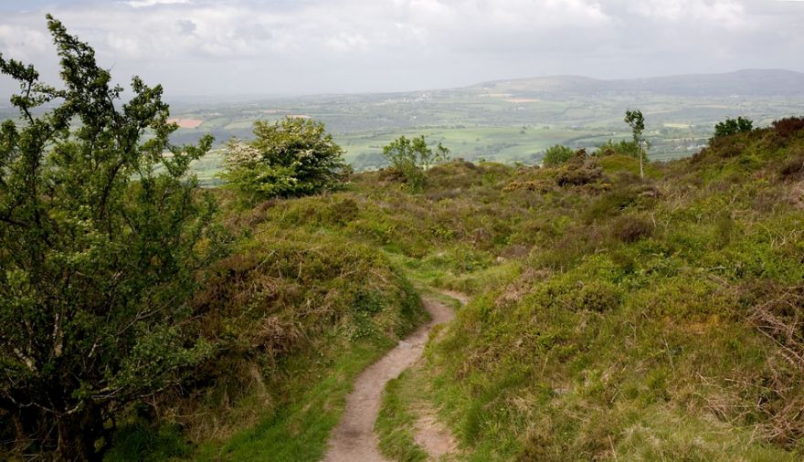 Bodmin Moor from Kit Hill
