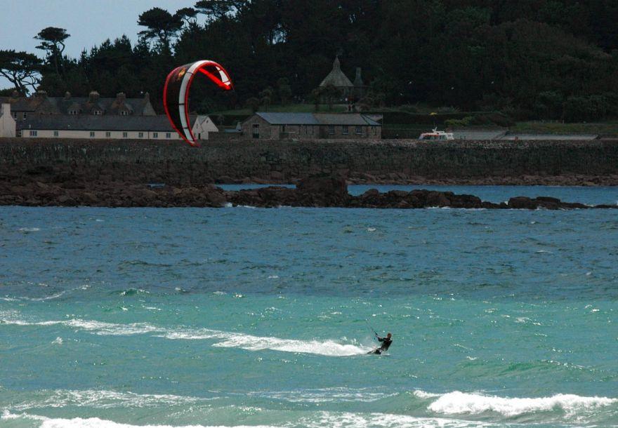 Kite Surfer - Marazion