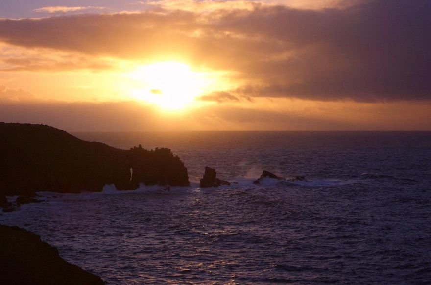 Sunset at Land's End