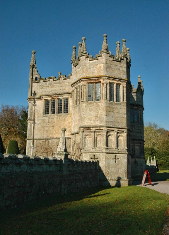 Gatehouse at Lanhydrock House
