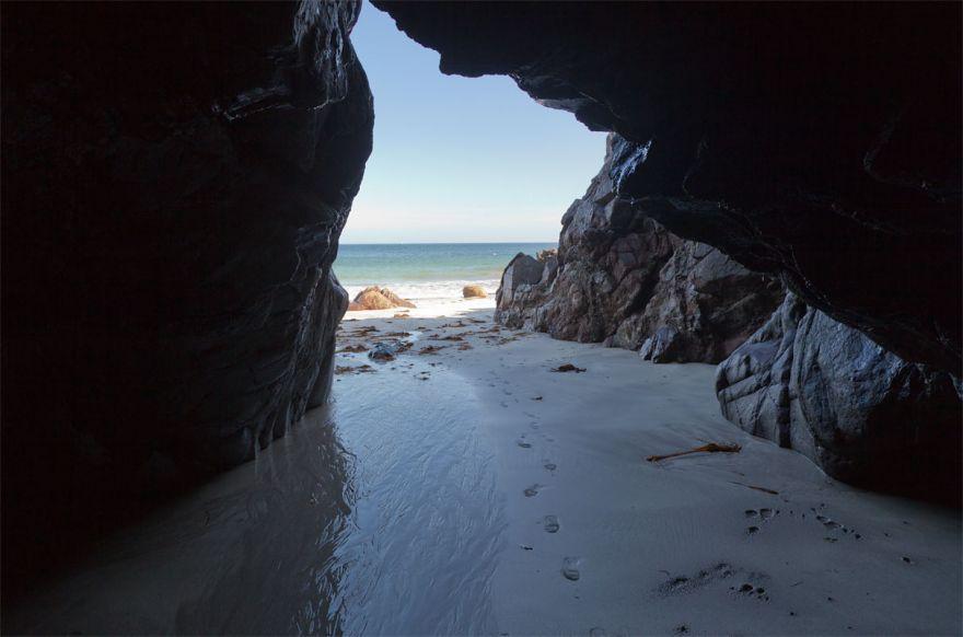 Serpentine cave - Lankidden