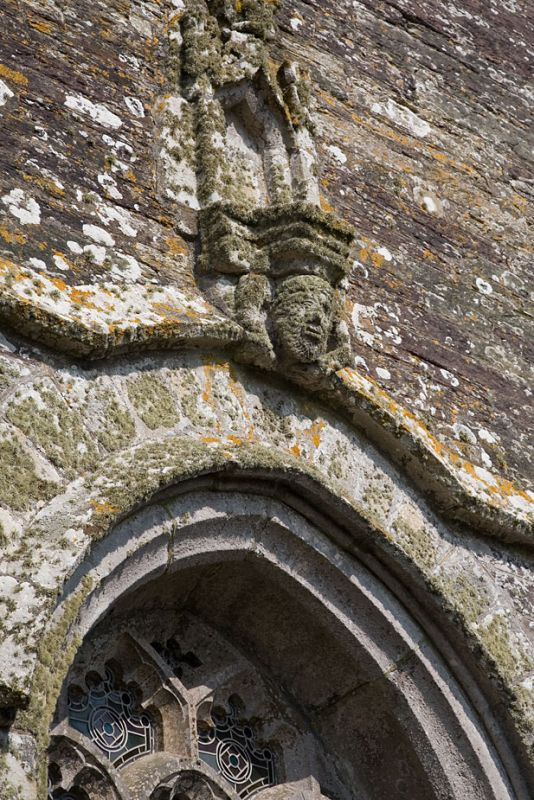 Lansallos Church detail
