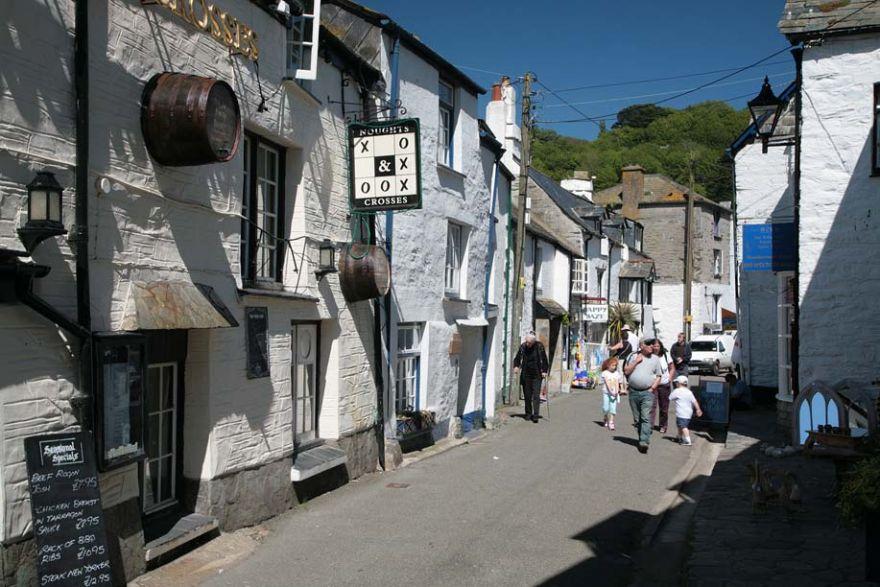 Lansallos Street in Polperro