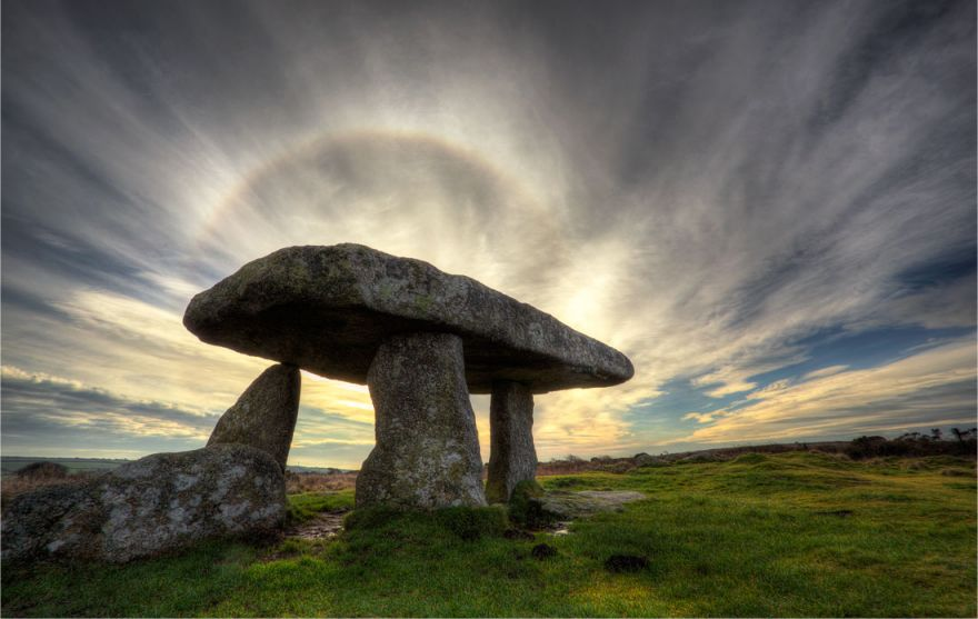 Lanyon Quoit Halo