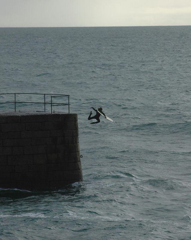 Pier Jump - Porthleven