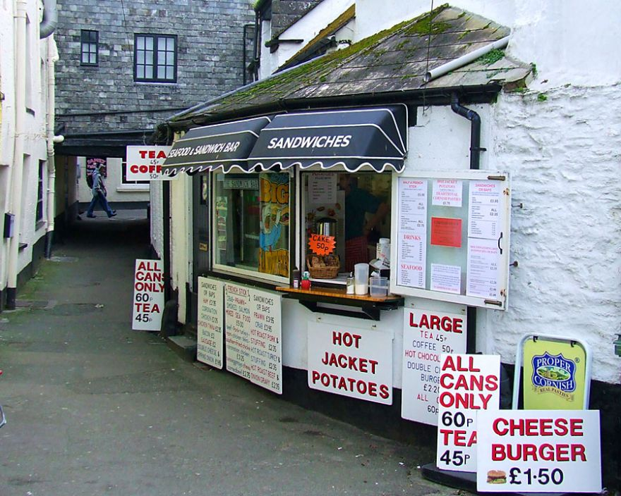 Seafood and Sandwich Bar - Looe
