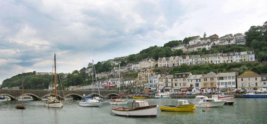 Looe Harbour and Bridge