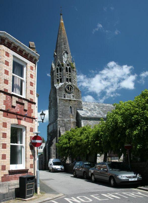 Lostwithiel Church Spire