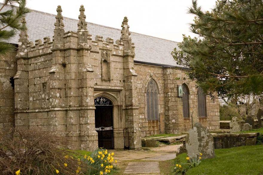 Madron Church Entrance