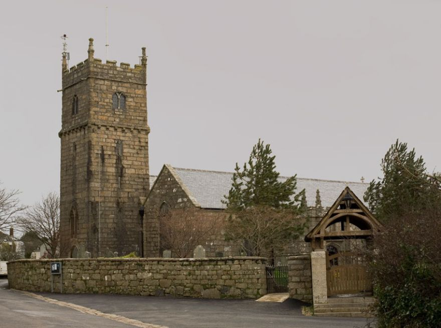 St Maddern's Church - Madron