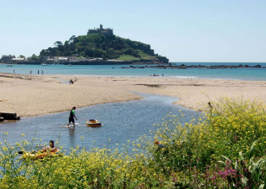 Marazion Beach and Red River