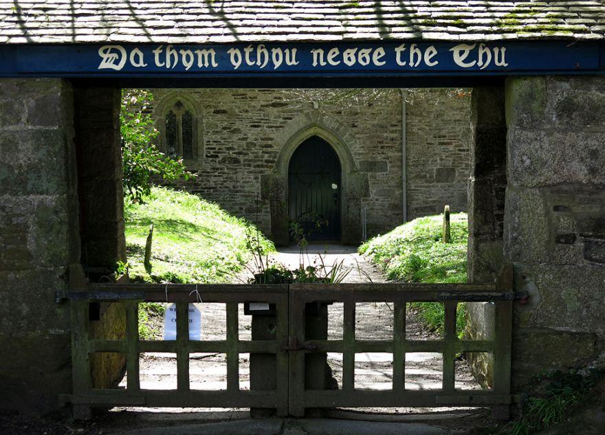 Mawnan Church Lych Gate