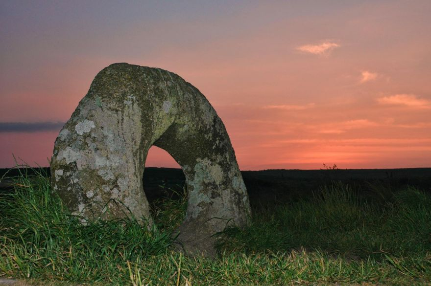 Men-an-Tol on Summer Evening
