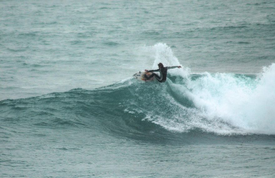 Mole Surfing - Porthleven