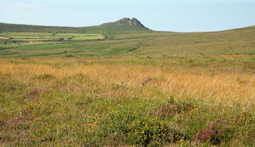 Carn Galva across the moors