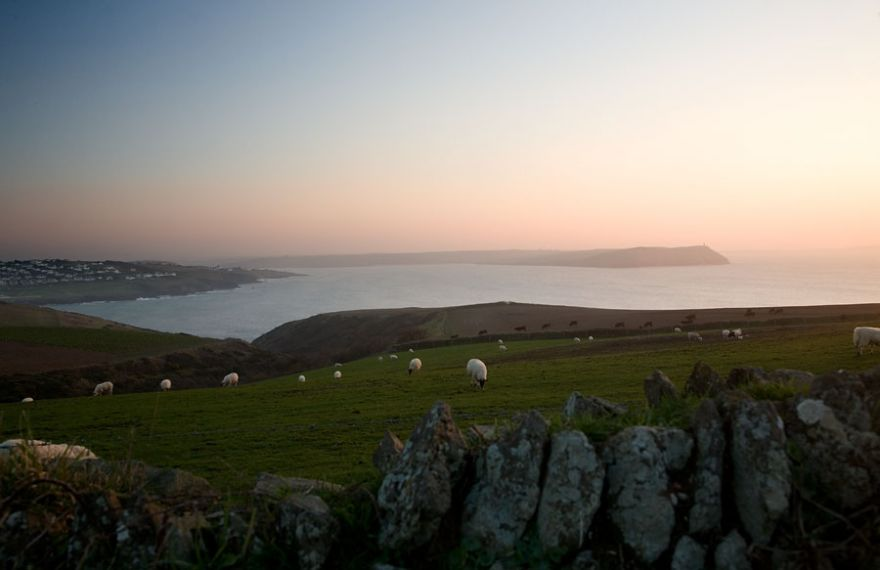 View from Pentire Farm