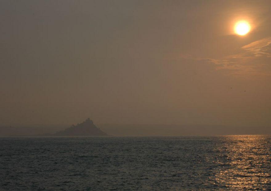 Morning Sun - Mount's Bay