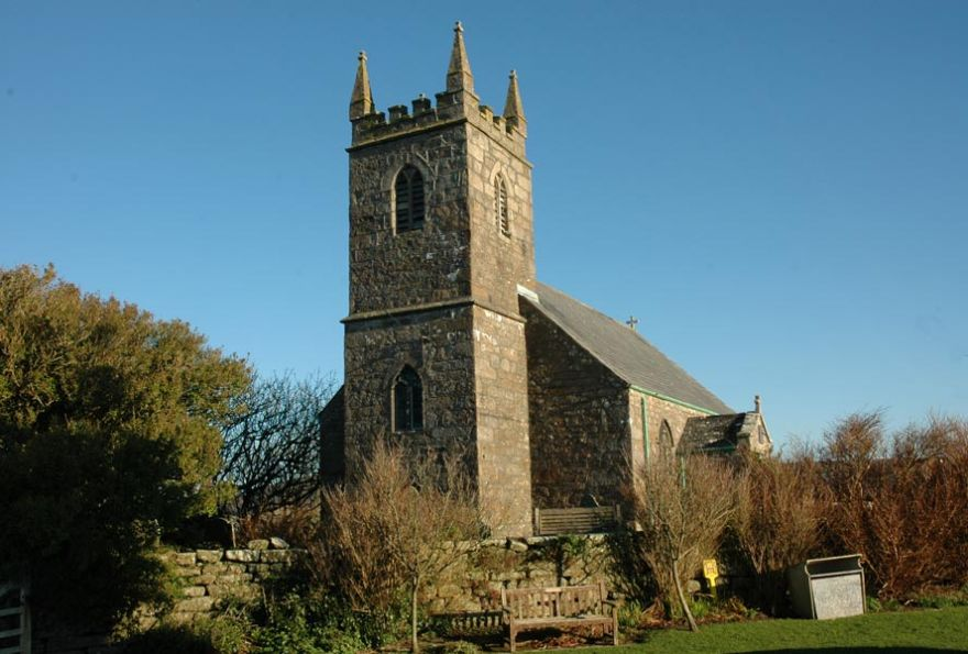 Morvah Church
