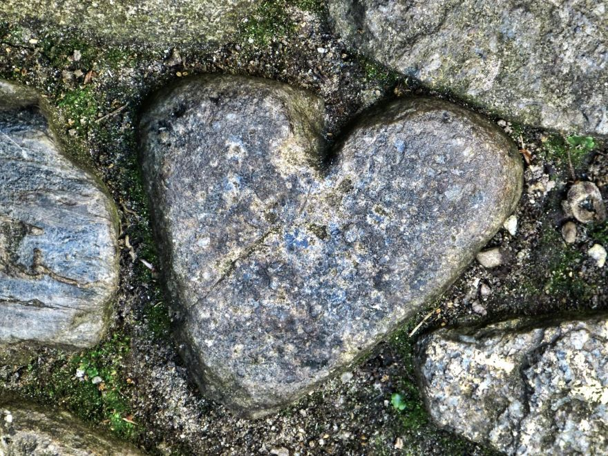Giant's Heart Stone - St Michael's Mount