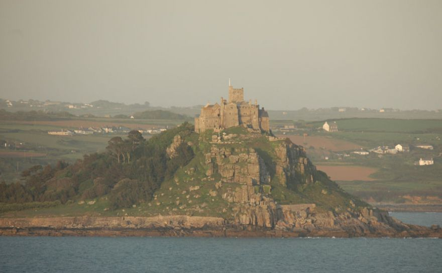 St Michael's Mount from Penzance Again