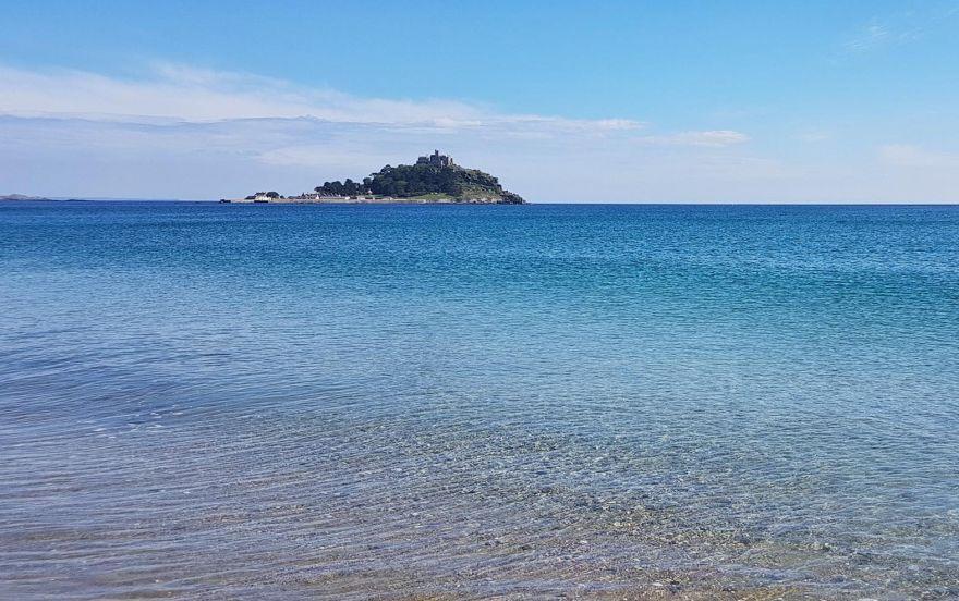 Clear water - Mounts Bay