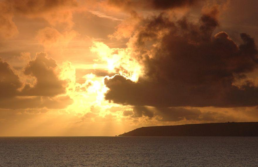 Mount's Bay Winter Sky