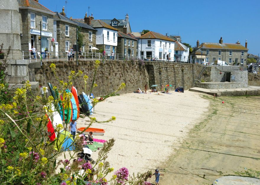 Mousehole Harbour Beach and Village