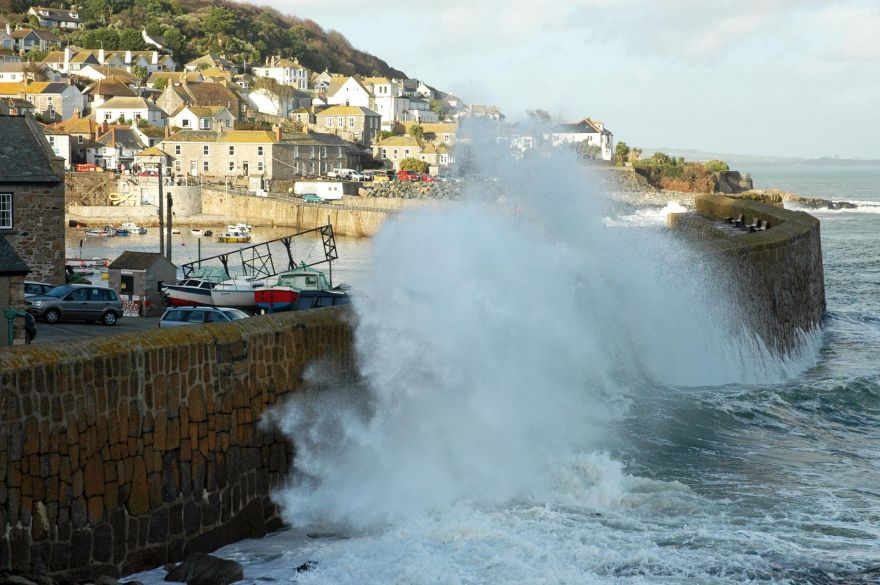 Mousehole Harbour Wall