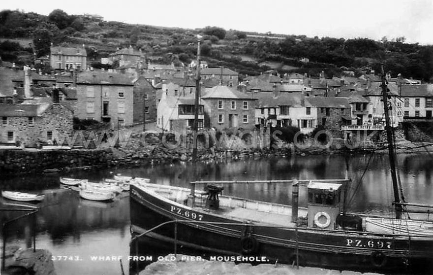Mousehole Harbour - 1920s