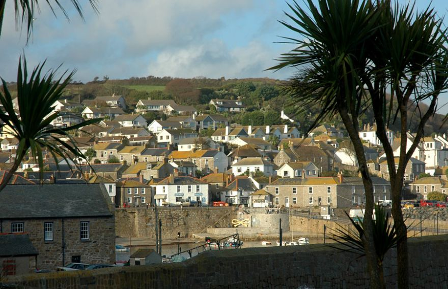Mousehole from across the harbour