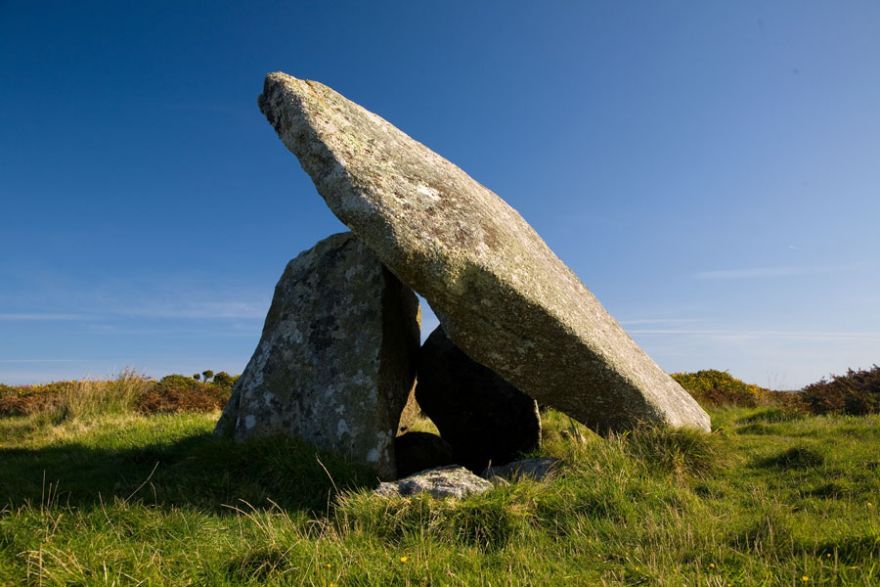 Mulfra Quoit Side View