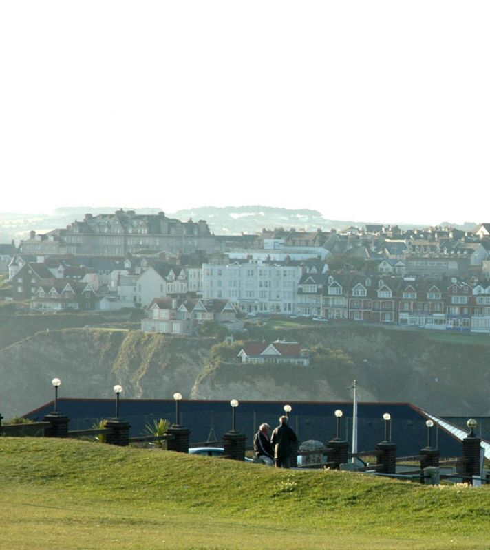 Newquay Town View
