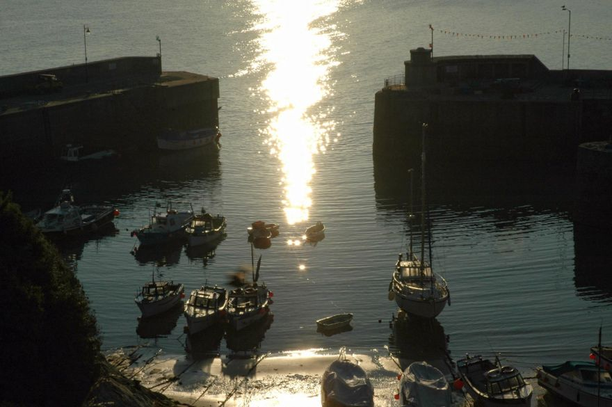 Newquay Harbour - Early Morning