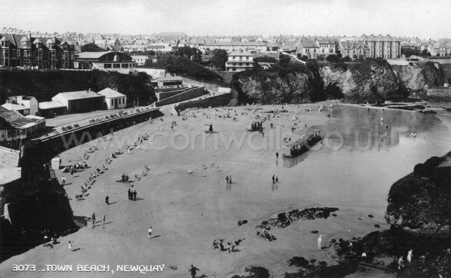 Towan Beach - Newquay - 1920s