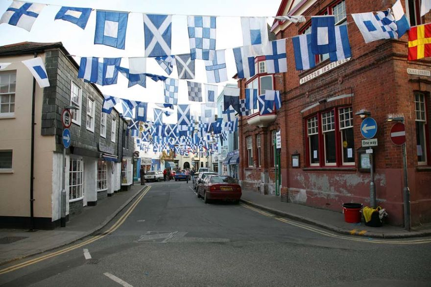 Blue Flags - Obby Oss Eve - Padstow