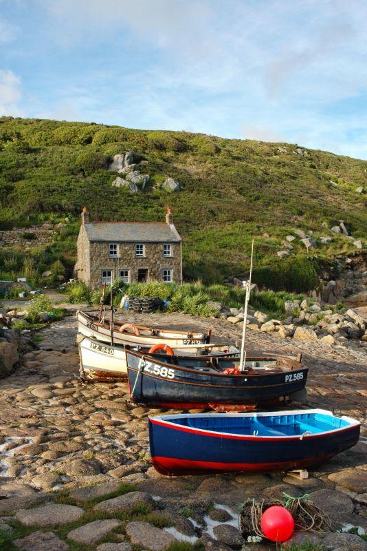 Penberth Cove Boats