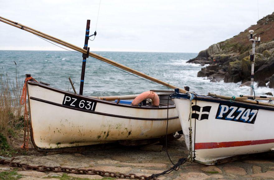 Penberth Fishing Boats
