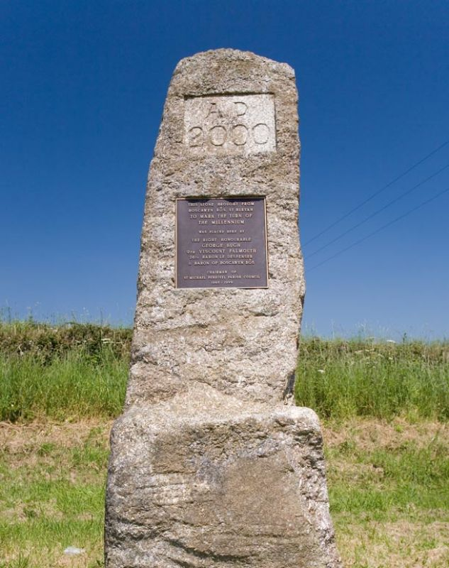 Millenium Stone - St Michael Penkivel
