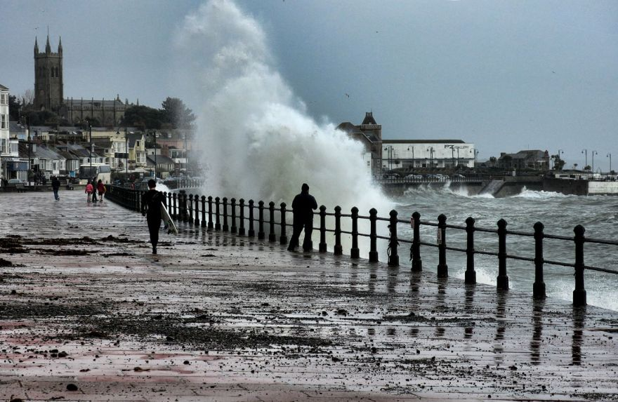 Surf's Up - Penzance Prom