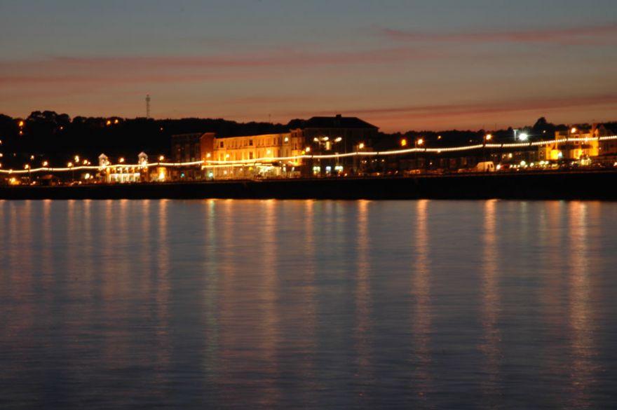 Penzance Sea Front at Night