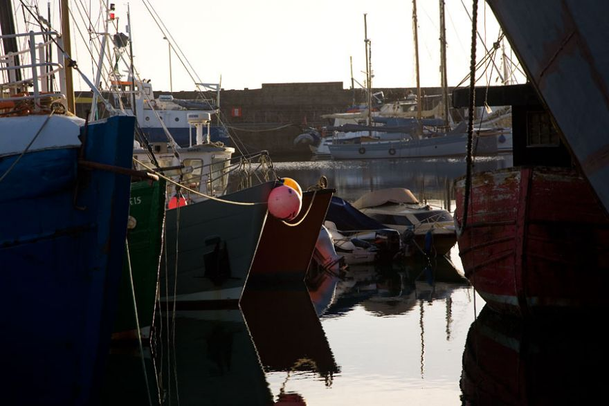 Penzance Harbour - Winter Morning