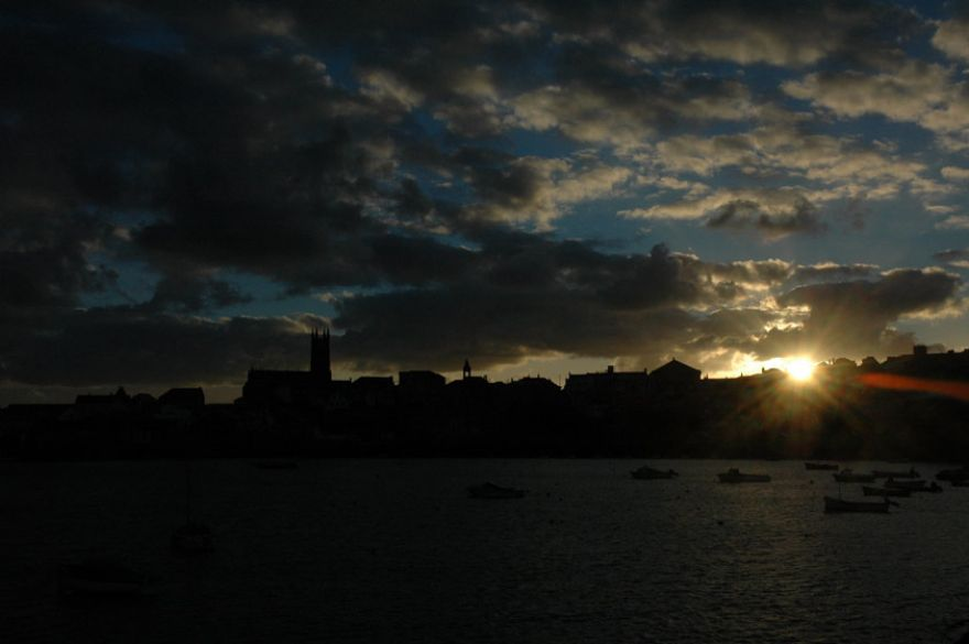 Penzance Harbour Sunset