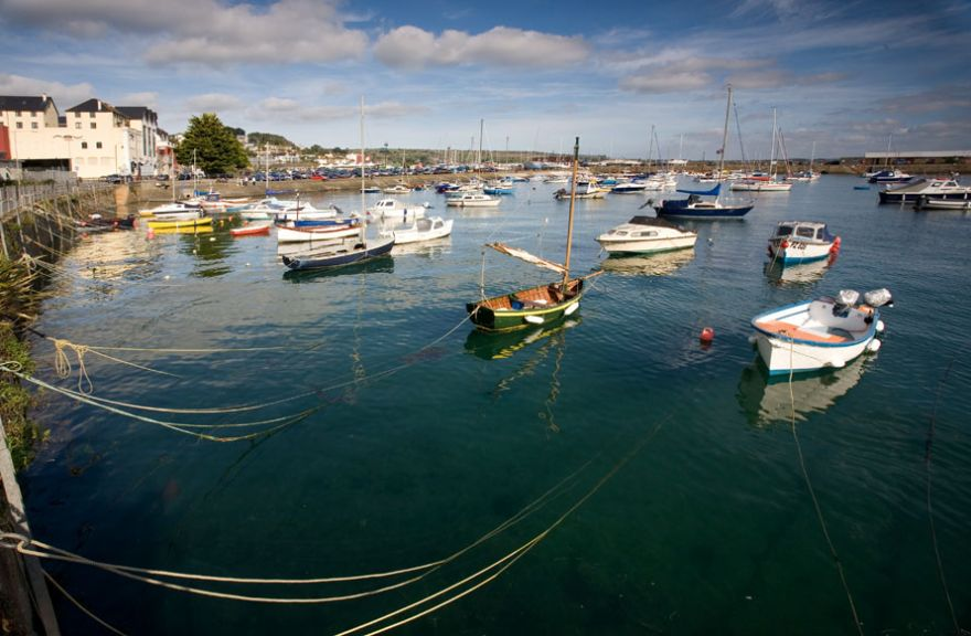 Penzance Harbour and Wharfside