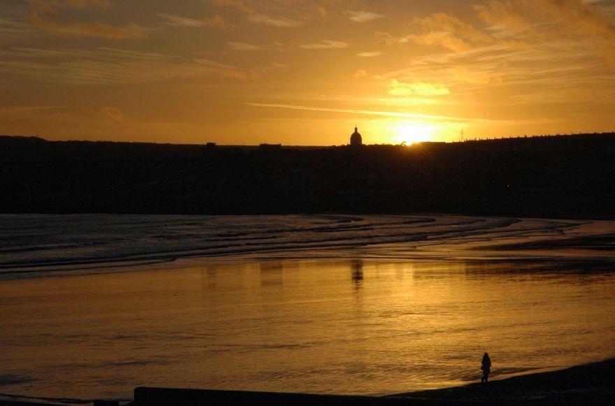 Sunset Over Penzance
