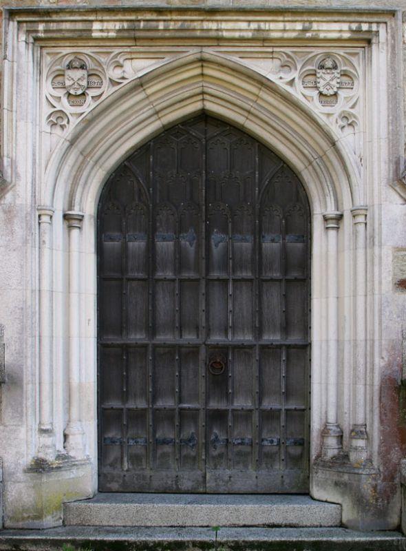 Door to St Petrocs Church