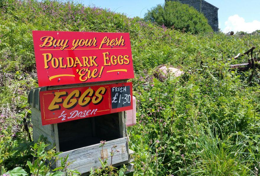Poldark Eggs