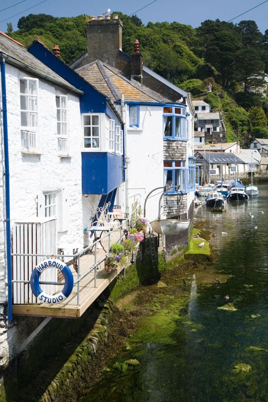 Polperro Harbour cottages