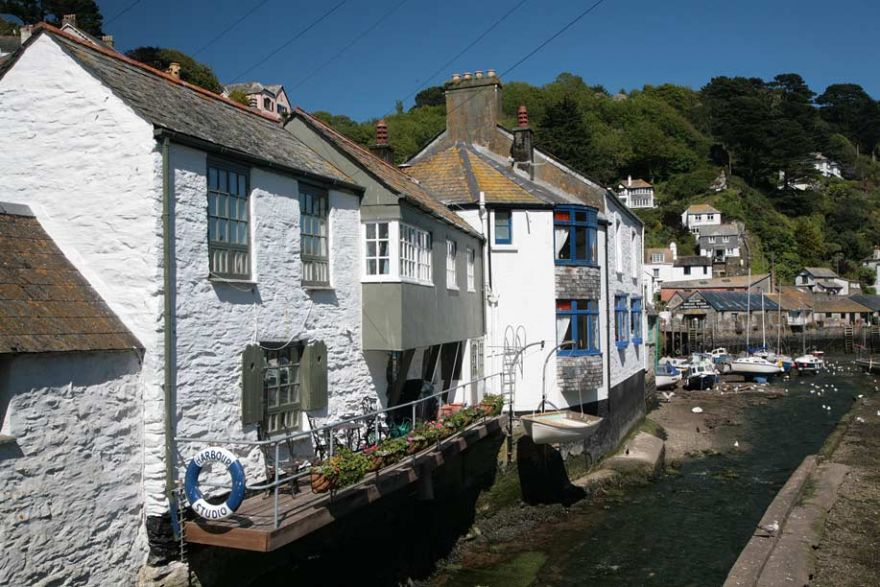 Polperro Harbourside